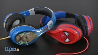 Marvel Guardians of the Galaxy Vol. 2 & Spider-Man Homecoming Headphones from eKids