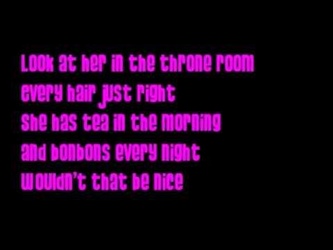 Barbie movie song: I wish I had her life lyrics on screen