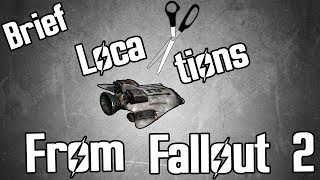 Fallout Fives - Cut Locations From Fallout 2 - Brief