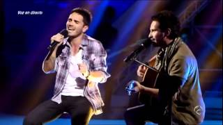 El Número Uno - Gala 11 I Pablo Vega y David de Maria - El perfume de la soledad