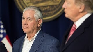 A series of Trump v Tillerson bust-ups - BBC News