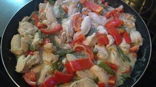 ФИТНЕС РЕЦЕПТЫ / Куриная грудка с овощами / ооочень вкусно