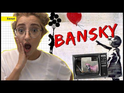 Dünya Kendini Yokeden Tabloyu Konuşuyor | Banksy Kimdir?
