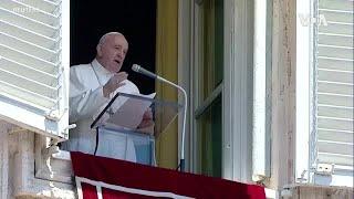 教宗方濟各恢復在聖伯多祿廣場向信眾講話