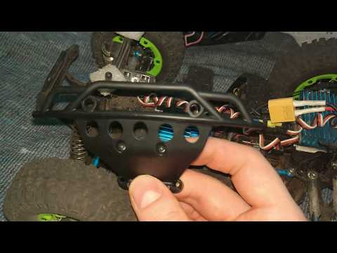 Remo Hobby Smax parts - P2525 Front Bumper -=Banggood=-