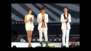 [Fancam] 120818 SMT in Seoul :: Dear My Family (baekhyun ver.)