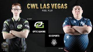 Optic Gaming vs G2 CWL Vegas S&D 12/7/18
