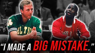 When Michael Jordan BULLIED Larry Bird and Instantly REGRETTED IT
