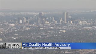 Out-Of-State Wildfire Smoke Takes A Crazy Route To Colorado, Worsens Air Quality