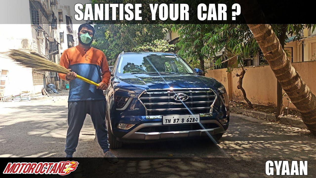 Motoroctane Youtube Video - Sanitise Your car? Coronavirus   Hindi   MotorOctane