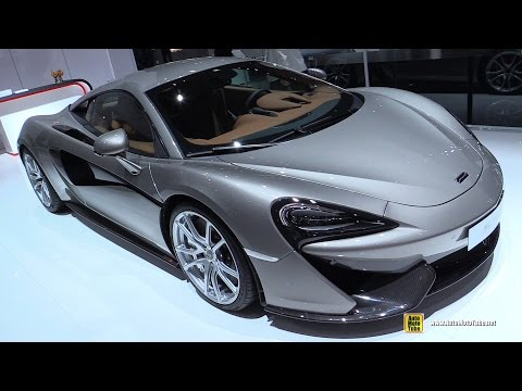 2016 McLaren 570S - Exterior and Interior Walkaround - Debut at 2015 New York Auto Show