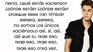All Around The World Letra En Español. [Justin Bieber Ft. Ludacris]