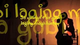 Jovit Baldivino - Dito Lyrics (Himig Handog P-Pop Love Song)