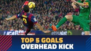 TOP GOALS | Five great Barça overhead kicks