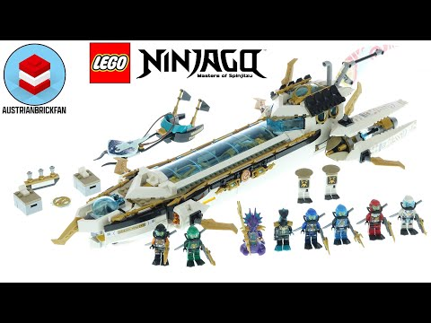 Vidéo LEGO Ninjago 71756 : L'Hydro Bounty