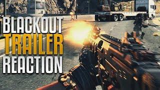 Blackout Trailer Reaction & Breakdown! (CoD Battle Royale)