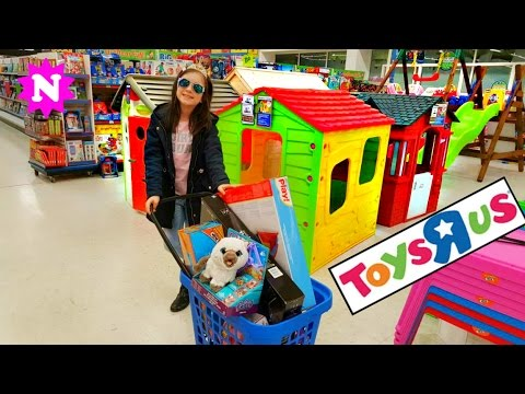 Shopping at Toys R Us Toy Review Presents Unboxing