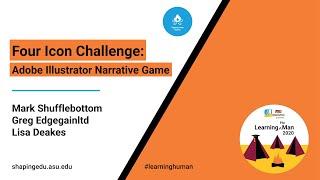 Four Icon Challenge: Adobe Illustrator Narrative Game
