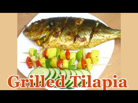 Grilled Tilapia (Grilled Fish)   All Nigerian Recipes