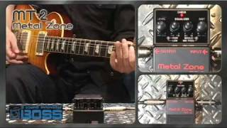 Демо-запись ROLAND MT-2 Metal Zone от Smollwille
