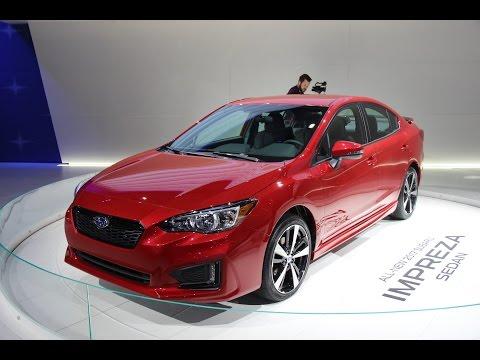 2017 Subaru Impreza First Look - 2016 New York Auto Show