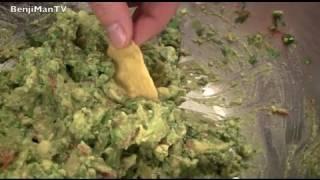 Best Guacamole (Healthy Snack & Easy Recipe)- BenjiManTV