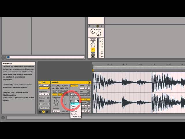 Ableton Live - Tutorial 04 : Warping
