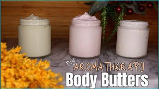 DIY Aromatherapy Body Butters | Ft. Gya Labs.