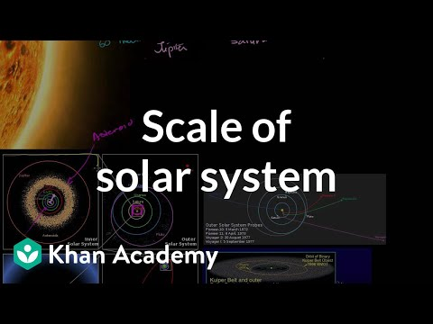 Scale of solar system video khan academy ccuart Choice Image