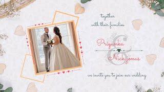 Best Wedding Invitation Video | Animated Wedding Video Invitation | Inviter.com