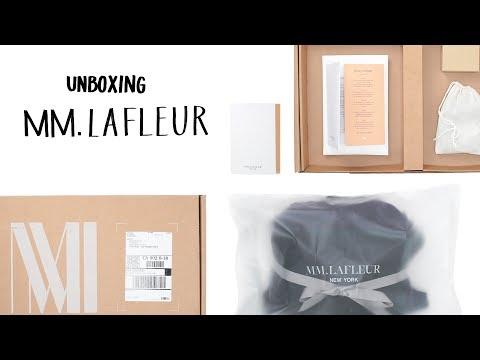 Unboxing MM.LaFleur