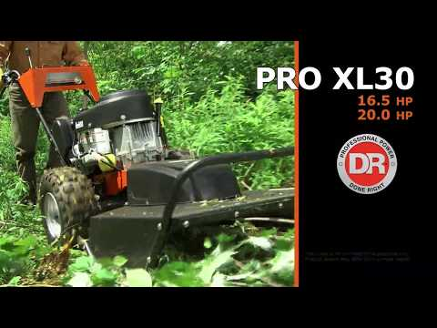 DR Power Equipment DR Pro XL30 30 in. Briggs & Stratton 16.5 hp in Walsh, Colorado - Video 1