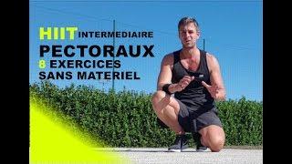 HIIT PECTORAUX - 8 EXERCICES SANS MATÉRIEL