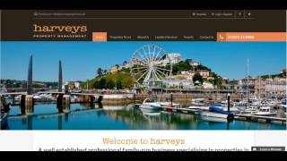Case Study: An Analysis of the Harveys Property Management Website
