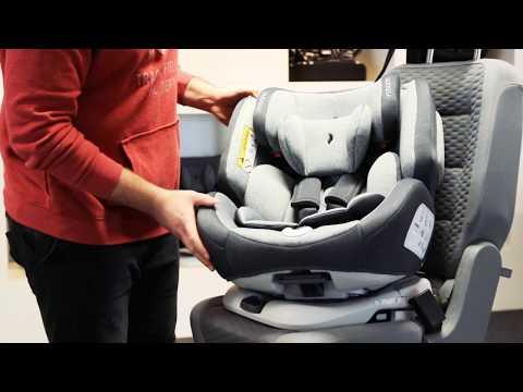 Osann Kinderautositz ONE360°, 0 bis 36kg, 0-18kg reboard, Hybrid Lösung, Isofix