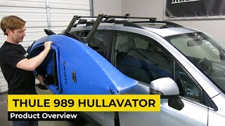 Thule 898 - Hullavator - Lift-Assist Kayak Carrier Presented by Rack Outfitters