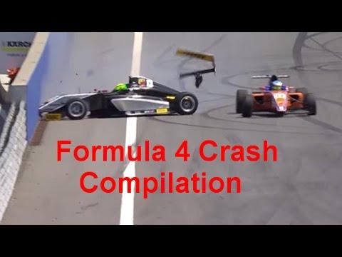 Formula 4 Crash Compilation