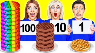 100 СЛОЕВ ШОКОЛАДА ЧЕЛЛЕНДЖ #2 от Multi DO Challenge