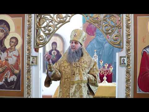 Митрополит Даниил совершил Литургию в Петро-Павловском храме микрорайона Черёмухово