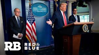 """Trump says U.S. economy is """"roaring back"""" despite surge in COVID-19 cases"""