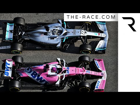 Image: Are Racing Point just a pink Mercedes?