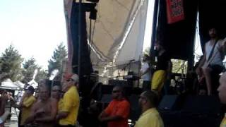 Chiodos - There's No Penguins In Alaska (Live at Warped 2009 Mountain View, Ca.)
