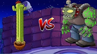 Plants vs Zombies Cactus vs Zombies vs Dr. Zomboss