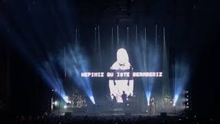 Massive Attack - Unfinished Sympathy (Live @ Istanbul Zorlu PSM) 25.16.2018 VISUAL