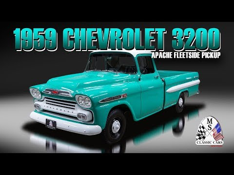 Video of 1959 Apache located in Massachusetts Auction Vehicle Offered by MS Classic Cars - Q79J