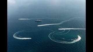 Украинские Корабли подошли к Крыму у Азовского моря Видео. Но что то пошло не так.