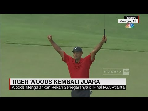 Tiger Woods Kembali Juara II CNN ID Update