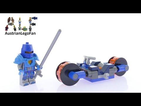 Vidéo LEGO Nexo Knights 30376 : Knighton Rider (Polybag)