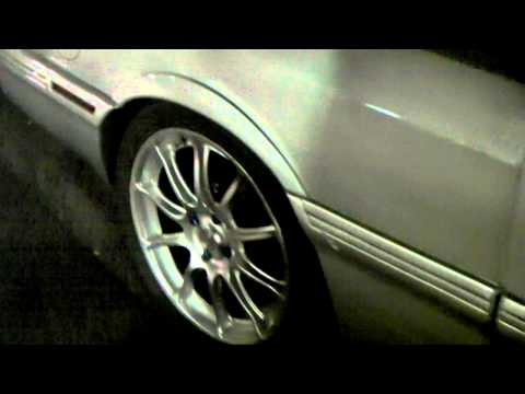 DUBSandTIRES.com 1987 Ford Escort GT Review 18'' Silver Wheels Asanti Forgiato TSW Wheels