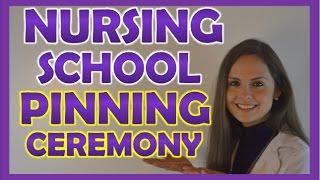 Nursing School Pinning Ceremony | Nursing School Vlog